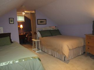 Portland house photo - Upstairs bedroom has two double beds and one twin bed
