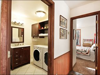 Breckenridge townhome photo - Private Washer and Dryer in this Beautiful Home