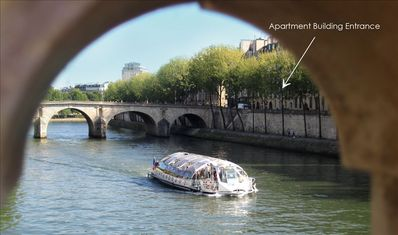 4th Arrondissement Pompidou Le Marais house rental - The street of the apartment