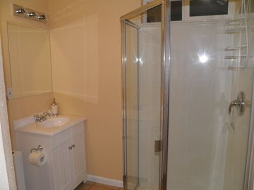 Newly added second bathroom located inside bedroom 2