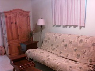 New Smyrna Beach cottage photo - Queen upgraded mattress in optional TV room/3rd bedroom.
