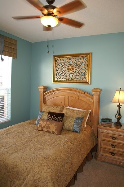 Main floor bedroom, queen bed
