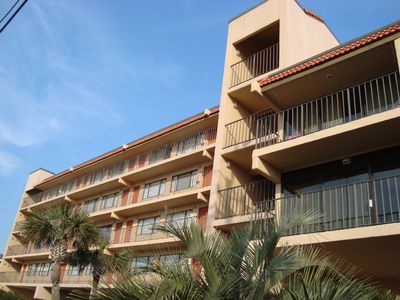 The Classy Condo is located in the well-maintained Cabana steps from the beach
