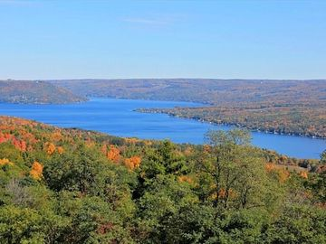 View of Keuka Lake from the West side of the lake