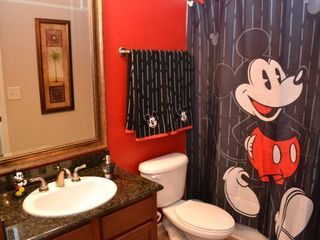 Disney themed bathroom off kids bedroom... - Bella Piazza condo vacation rental photo