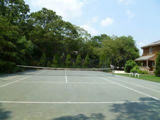 Westhampton house photo - well maintained tennis court