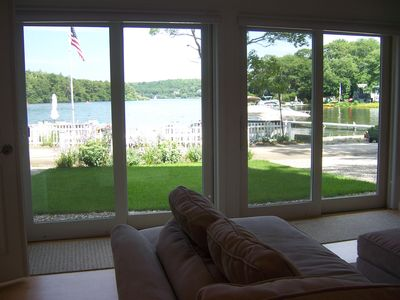 FIRST FLOOR UNIT Put your feet up & enjoy beautiful water & garden view...TV too