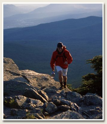 Hiking to Killington Peak or Pico or Deer Leap