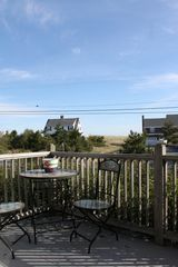 Sagamore Beach house photo - Front deck, perfect for morning coffee and watching the sunrise over the beach