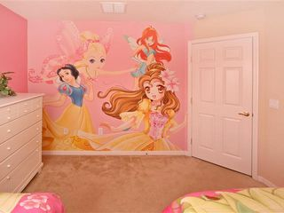 Haines City villa photo - Princess mural