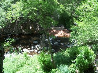 Sedona cottage photo - Creek from Deck.