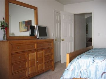Master Bedroom - Dresser and Flatscreen TV