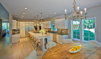 Bridgehampton house rental - breakfast room/kitchen