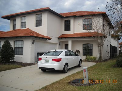Kissimmee villa rental - Front door view