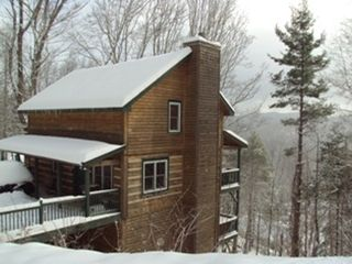 Boone cabin photo - Appalachian Dream has amazing views from every room