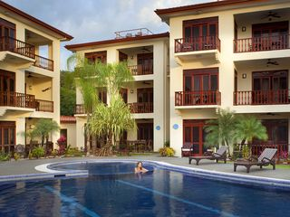 Jaco condo photo - Swimming pool area at Bahia Azul