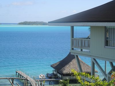 Bora bora pf vacation rentals more homeaway for Villas polinesia