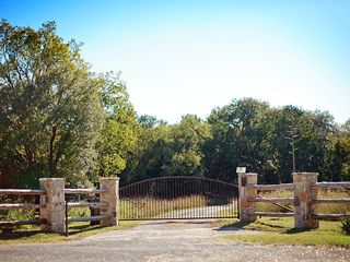 Front Gate of Shade Ranch - Wimberley house vacation rental photo