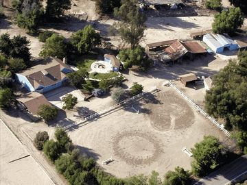 Simi Valley farmhouse rental - Picture of the Ranch House, we have 40 more acres of trails, picnic areas, barns