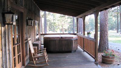 Front Porch of Bunkhouse