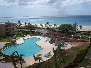 Aruba condo photo - New pool and ocean front