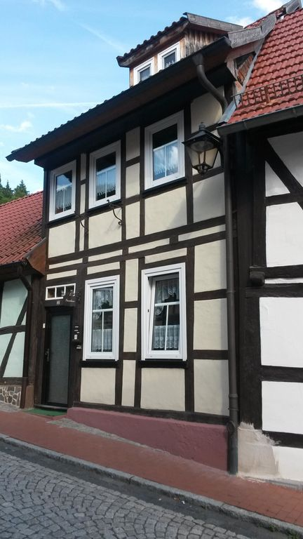 Rediscover the Harz and live in a lovely restored half-timbered house