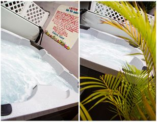 Ocean Park apartment photo - Nothing says vacation like a relaxing jacuzzi