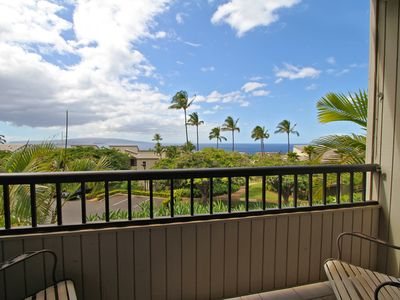 Private lanai from Beautiful tropical Master bedroom