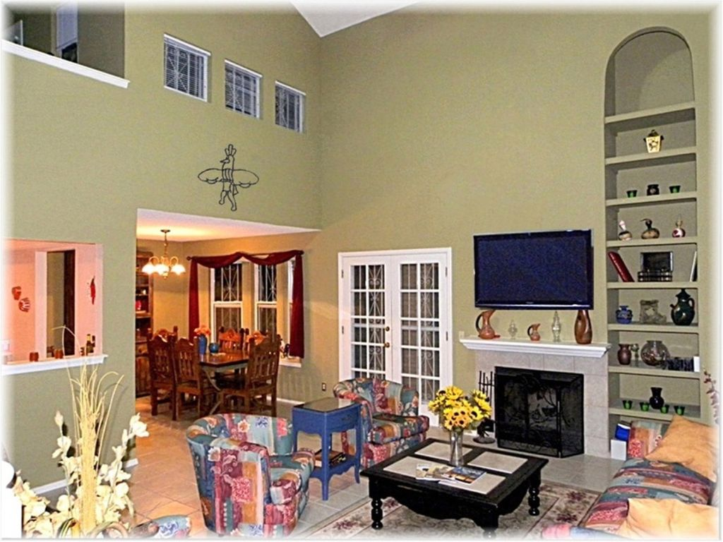 Great Living Room Vaulted Ceiling