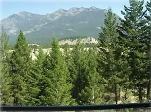 Radium Hot Springs condo rental - Spectacular View from the Deck