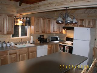 Kitchen Area - Westcliffe cabin vacation rental photo