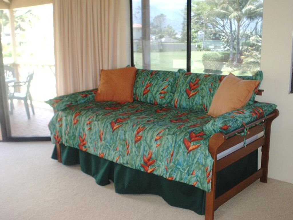 Punee (Hawaiian Daybed) - That spot for the 'Lie on the couch and read' day.