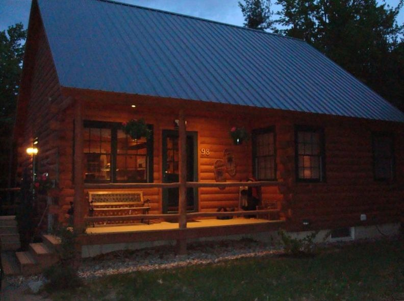 Newer Log Cabin On Three Wooded Acres In The Vrbo