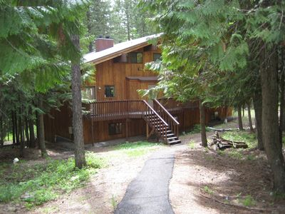 Whitefish condo rental - View to the Condo