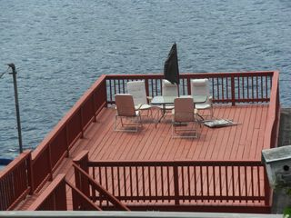Alton Bay house photo - DOCK SUNDECK