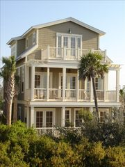 Santa Rosa Beach house photo - Front of House Facing the Gulf