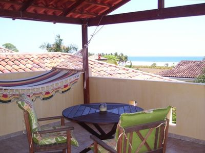 Playa Hermosa house rental - Roof Top Patio