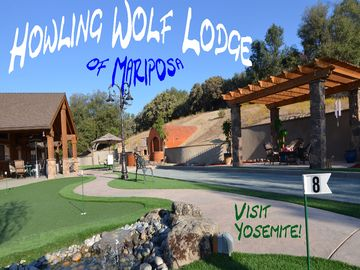 Mariposa house rental - Family Fun! Play Bocce Ball, Practice Putting, or relax in our outdoor patio.