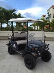 Rio Mar villa photo - EZ Go Golf Cart