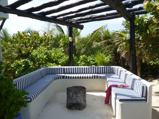 Tulum villa photo - Read your favorite book under the Pergola