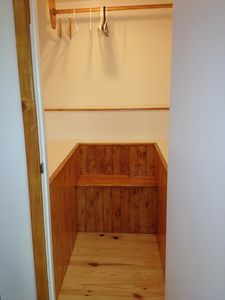 Mill Valley studio rental - Walk-in Closet