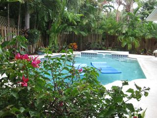 Fort Lauderdale house photo - View of Saltwater Pool