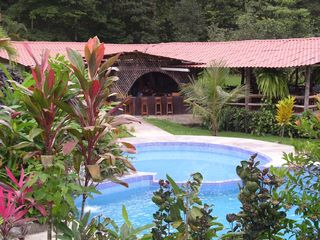 Volcano Arenal house photo - Pool and bar at Chachgua Rainforest Lodge