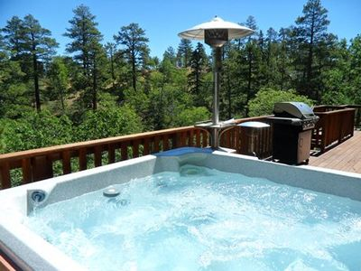 Hot Tub With Marvelous Mountain Views