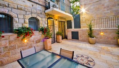 Delightful 80 square meter private courtyard