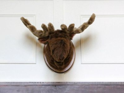 Bromley Mountain chalet rental - Sonny the Moose, replaced the deer-head that was previously here. :-)