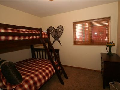 Kid's Suite with Twin Over Full Bunk Beds and Private Full Bathroom