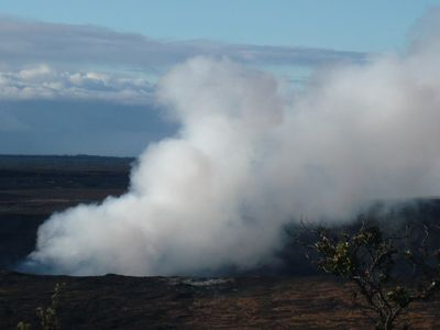 Hawaii's active Volcano