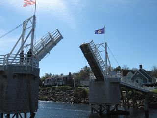 Ogunquit cottage photo - Foot bridge at Perkins Cove. 10 minute walk from cottage.