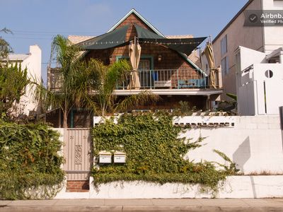 Venice Beach house rental - front of duplex